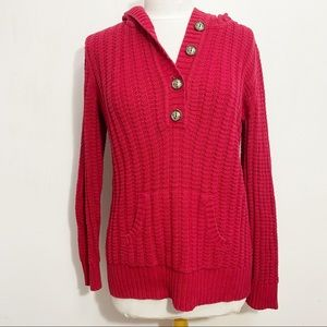 STYLE & CO hooded kangaroo pocket sweater XL